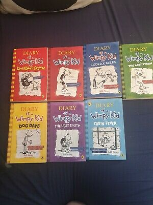 diary of a wimpy kid books collection