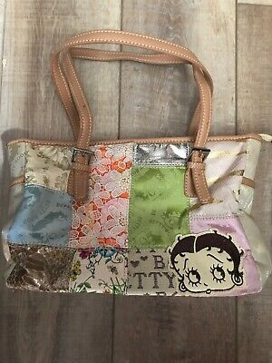 Betty Boop Patchwork Front Purse Great Shape