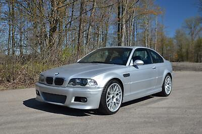 2002 BMW M3 Base 2dr Coupe 2002 BMW M3 Manual 6-speed 77,100 Miles Silver Coupe 3.2L I6 Manual 6-Speed