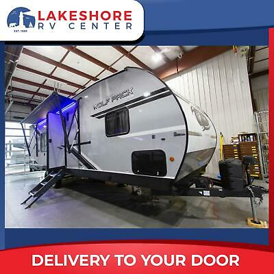 Wolf Pack 23PACK15 Travel Trailer Toy Hauler RV NO PAYMENTS FOR 90 DAYS