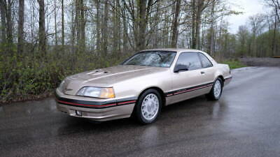 1988 Ford Thunderbird Turbo 2dr Coupe 1988 Ford Thunderbird Turbo Coupe - Manual Transmission 88,100 Miles Beige Coupe