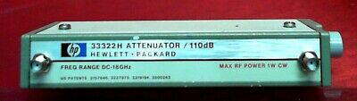 HP - Agilent 33322H Programmable Variable Attenuator, DC-18GHz