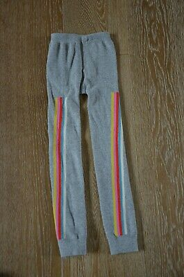 MINI BODEN Girls Gray Footless Tights Size 9-10 GUC