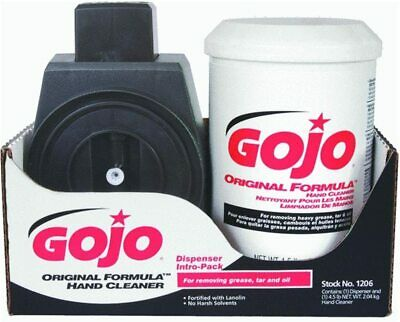 GOJO Dispenser with 1-4.5Lb Creme Hand Cleaner #1206