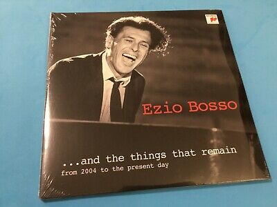 EZIO BOSSO ...And The Things That Remain 3 x Vinyl LP NEW SEALED!!!!!!!!!