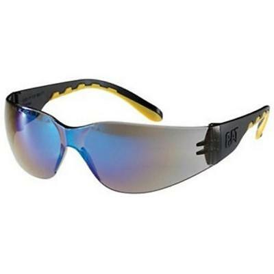 Caterpillar Track Work Sunglasses Blue Lens Safety Spectacles Cat Glasses Specs