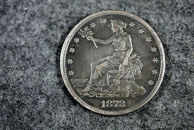 1878 - S Seated Silver Trade Dollar!!  #J06027