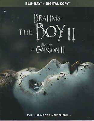 BRAHMS THE BOY II BLURAY & DIGITAL SET with Katie Holmes & Christopher Convery