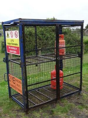 Gas Bottle Storage Safety Cage 1700mm x 880mm x 1735mm Fold Up Fold Away