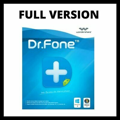 Wondershare-Dr.Fone 🔥Toolkit for iOS and Android 🔐 | lifetime | 5s delivery
