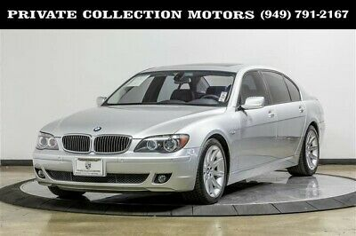 2006 BMW 7-Series  2006 BMW 750Li 7 Series MSRP $79,845