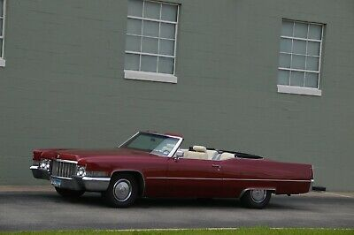1970 Cadillac DeVille  1970 CADILLAC CONVERTIBLE RUST FREE TX CAR BEAUTIFUL PAINT RUNS WELL PRICED SELL