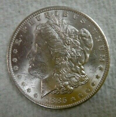 1885 O Mint Morgan Silver Dollar, Uncirculated Excellent Condition, No Reserve