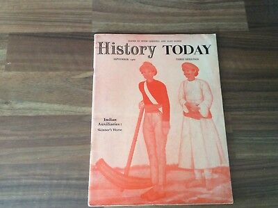 History Today Magazine Sep. 1960
