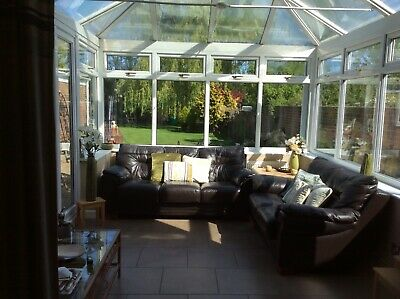 Used white upvc conservatory, buyer to dismantle.