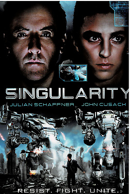 Singularity,(DVD w/slipcover, 2017), NEW and Sealed, WS, FREE Shipping!