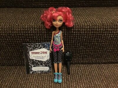 Monster High Howleen Wolf Dance Class Doll With Diary
