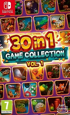 30 in 1 Game Collection Vol 1 Nintendo SWITCH NEW UK Release PreOrder 03/07/2020