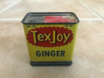 Vintage Tex Joy Ginger Spice Tin