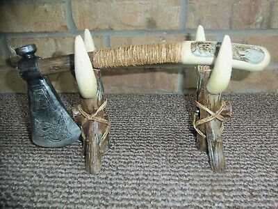 Tomahawk with Display Stand Native American Decor