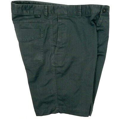 THE NORTH FACE Chino Shorts Stretch Hiking Charcoal Gray 5 Pocket Men's 34