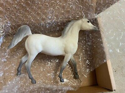 Breyer Little Bits Paddock Pals Alabaster Flea Bitten Grey Arabian Stallion NIB