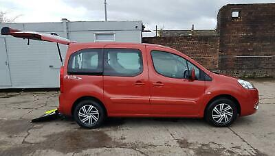 PEUGEOT PARTNER TEPEE HORIZON S 1.6 HDi WHEELCHAIR ACCESSIBLE DISABLED