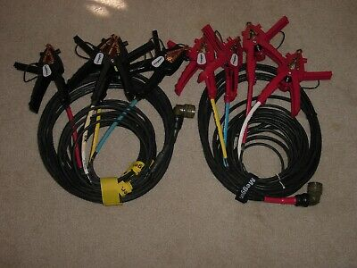 MEGGER H and X Winding Shielded Test Lead Set for TTR310