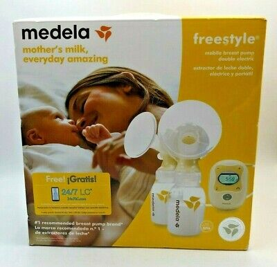 Medela Freestyle Mobile Double Electric Breast Pump-020451330921-DAMAGED BOX