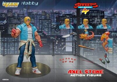 Storm Collectibles 1/12 Action Figure Streets of Rage 4: Axel Stone [PRE-ORDER]
