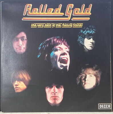 The Rolling Stones - Rolled Gold The Very Best Of R.s. Decca Rost 1/2 Aus 2Lp's