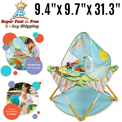 Home Pop Jump Portable Activity Play Center Lightweight Baby Jumper With Toy New