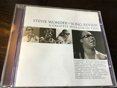 Stevie Wonder - Song Review - Greatest Hits Cd - Lately / Happy Birthday +