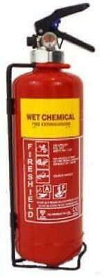 FireShield 2Ltr Wet Chemical F Class Cooking Fire Extinguisher