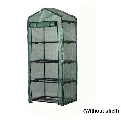 4 Tier Tomato Growbag Growhouse Mini Outdoor Garden Greenhouse PVC Cover