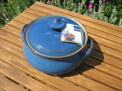 NEW DENBY IMPERIAL BLUE LIDDED TUREEN / CASSEROLE DISH - Discontinued