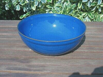 NEW DENBY IMPERIAL BLUE MEDIUM SERVING BOWL - Discontinued
