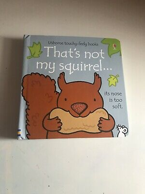 New- That's Not My Squirrel Book