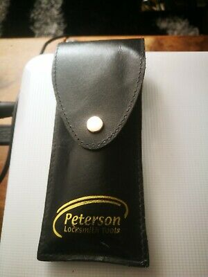 peterson pick set tuxtured foam and rubber handles very strong