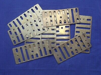 Job Lot small brass Open Slot Air Flow Grille Ventilation Vent Covers