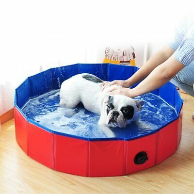 Foldable Dog Pool Pet Bath Swimming Tub Collapsible Bathing Swimming PoolQUALITY