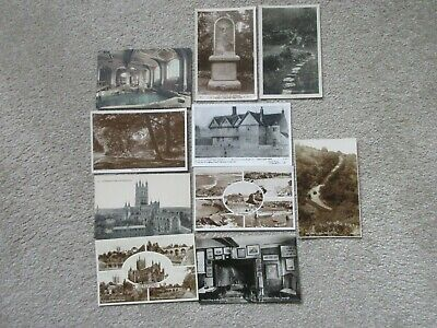 Bulk Lot of 40 Old British Postcards. Un-posted.