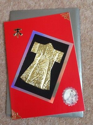 A5 Handmade Oriental Birthday Card & Envelope - Made To Raise Money For Charity
