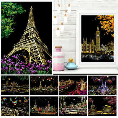 Art Scratch Painting Supplies For Birthday Gifts For wedding Gifts DIY Practical