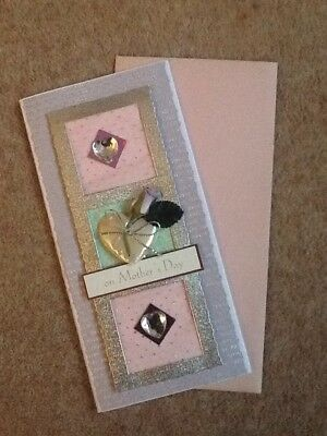 Handmade Mothers Day Card & Envelope, Made To Raise Money For Charity