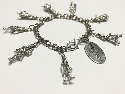 American Girl Collectible Hallmark Charm Bracelet