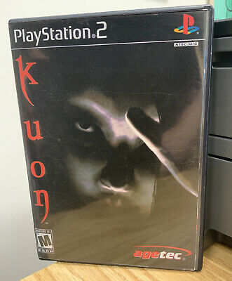 Reproduction Replacement Kuon Playstation 2 PS2 Artwork & Case Only Repro Cover
