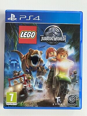 PS4 Lego Jurassic World Movie Sony Playstation Game Disk