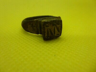 6th-8th century Byzantine Ring with Monogram