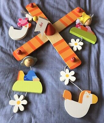 Gorgeous Sevi Wooden Mobile Be My Prince Range - Great Condition Very Cute!